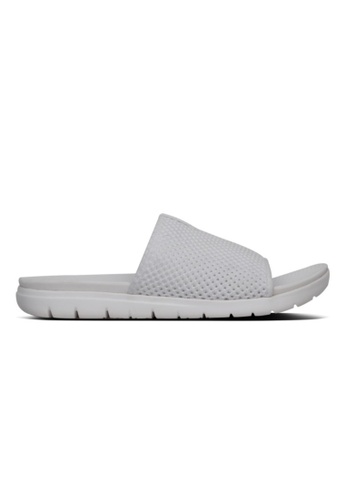 FitFlop white FitFlop Airmesh Slide (Urban White) CBED6SH64197CEGS_1