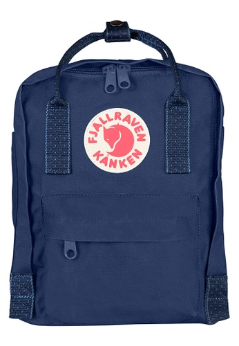 Fjallraven Kanken blue Royal Blue-Pinstrip Pattern Kanken Mini Backpack D586BACE2B14C0GS_1