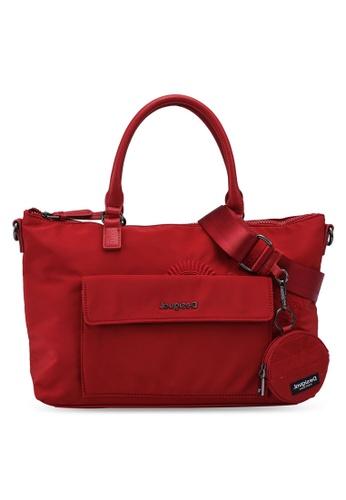 Desigual red Mandalas Handbag C67D4AC15D0EC1GS_1