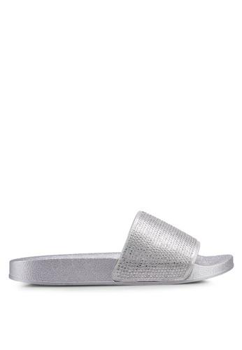 Carlton London silver Strap Slides D7E1ESHA10C754GS_1