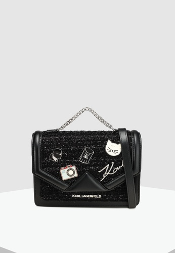 0b4e8d4ca Shop KARL LAGERFELD Klassik Pins Med Shoulder Bag Online on ZALORA  Philippines
