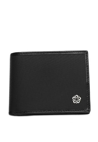 Wild Channel black Men's Bi Fold Wallet 81633ACD1979B9GS_1