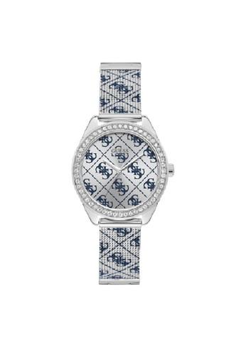 Guess Watch silver Guess Jam Tangan Wanita Analog W1279L1 89352AC683CE99GS_1