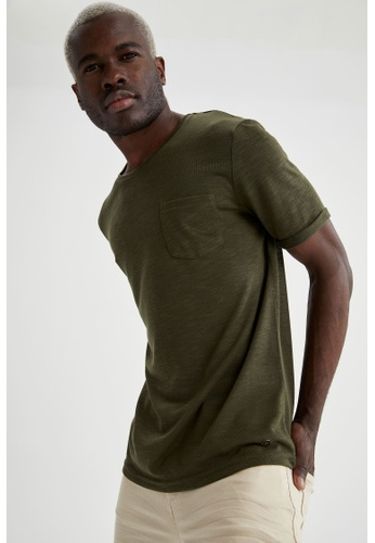 DeFacto green Man Knitted T-Shirt 93175AA73FEF7EGS_1
