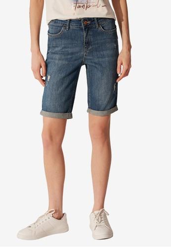 LC Waikiki blue Denim Shorts 0F14FAA3B03978GS_1