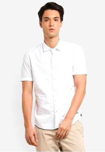 ESPRIT 白色 Women Short Sleeve Shirt 6D226AA5A10707GS_1