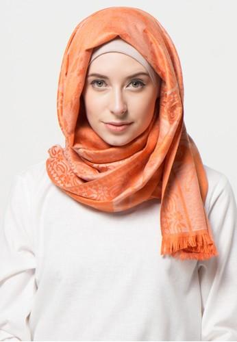 SHALIMAR orange Shalimar Pashmina Jasmine Style SH713AA05CLIID_1