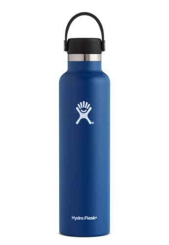 Hydro Flask blue Hydroflask Standard Mouth W/Standard Flex Cobalt 24Oz 9103AAC0AB479FGS_1