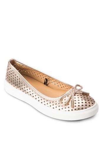 Josie 雕花厚底運動鞋,esprit 會員 女鞋, 鞋