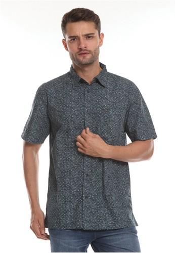 No Fear navy Sunflower - Regular Fit Shirt E53E2AA9933014GS_1