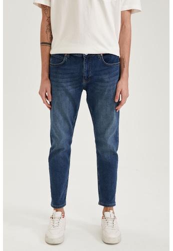 DeFacto blue Man Denim Trouser EE80DAA14E90A2GS_1