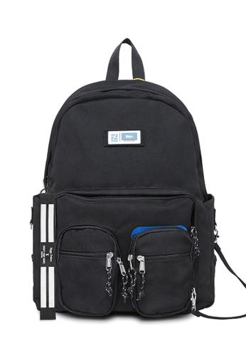 Twenty Eight Shoes black 2021 High Capacity Printed Backpack 215AI2019 2D590AC3C0C6ACGS_1