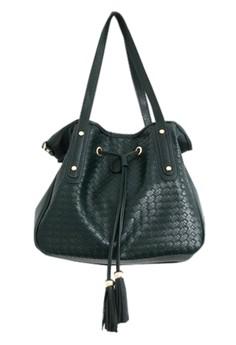 Woven Weave Shoulder Bag
