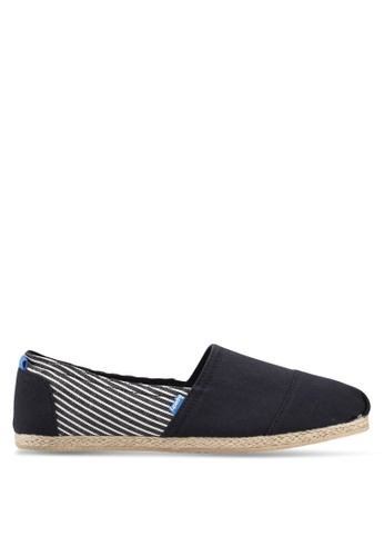 Superdry black JETSTREAM ESPADRILLE C67D9SH0CD095EGS_1