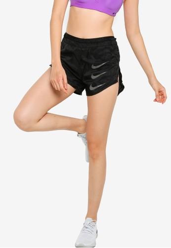 Nike black Women's Tempo Luxe Run Division 2-In-1 Shorts 6E87CAA34C8481GS_1