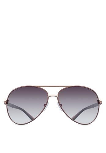 NUVEAesprit hk分店U 飛行員太陽眼鏡, 飾品配件, 飛行員框