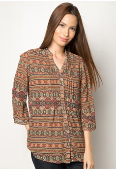 Pia Quarter Sleeves Blouse