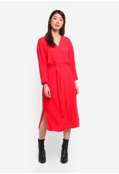 a911c9c239abc Modstrom red Fedora Dress 62E64AA7F2DD4EGS 1