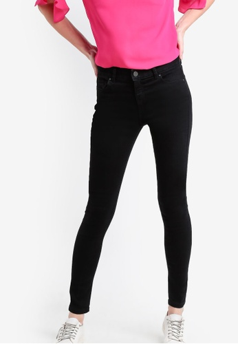 Dorothy Perkins black Short Length Bailey Skinny Jeans DO816AA19RCQMY_1
