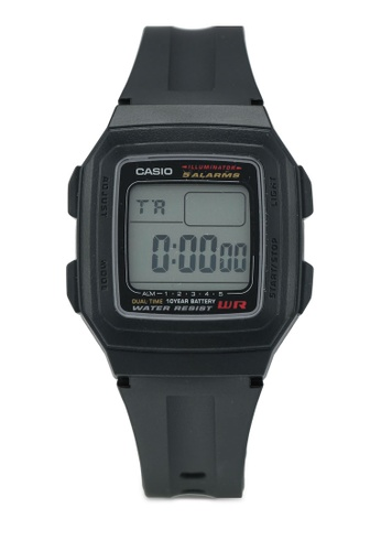 Casio black Casio Watch F-201WA-1ASDF 1C35FAC4800257GS_1