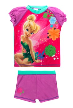 Tinkerbell Short Sleeved Rashguard