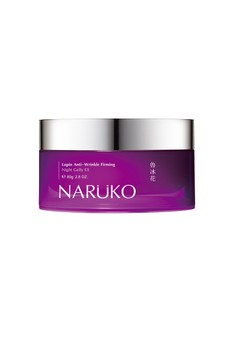 Naruko Lupin Anti-Wrinkle Firming Night Gelly EX 80g Free 1x Tea Tree Clay Mask & Cleanser In 1 20g