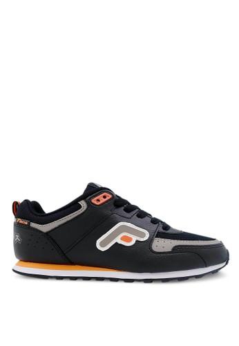 FANS black Fans Eureka O - Running Shoes/School Shoes Black Orange FA469SH27NJWID_1