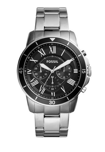Fossil silver Grant Sport Chronograph Watches FO359AC0K93APH_1