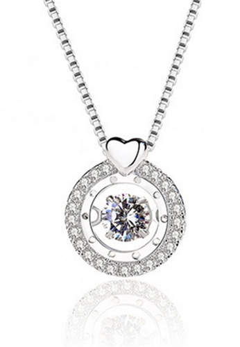 LYCKA silver LPP88037 S925 Silver Necklace 78FAEACAC7F685GS_1