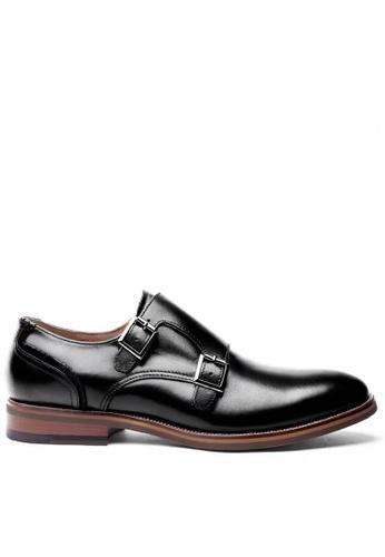 Twenty Eight Shoes black Leather Monk Strap Shoes MC8135 9E7CDSHF4675F2GS_1