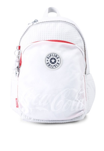 Kipling white Delia Backpack 098FDAC3F127E4GS_1