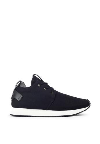 Navara black Essentialist Kindle Black Sneakers 7539CSH7BD4100GS_1