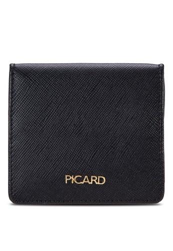 皮革方形零錢包, 包, 旅行esprit 中文配件