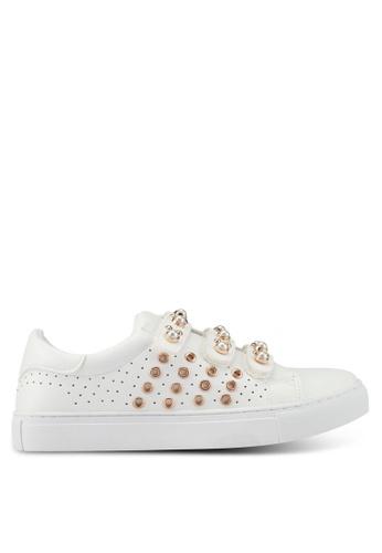 Bata white Pearl Sneakers E86A1SHE690256GS_1