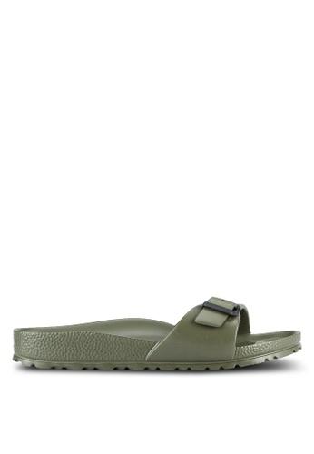 Birkenstock green Madrid EVA Sandals BI090SH0RTICMY_1