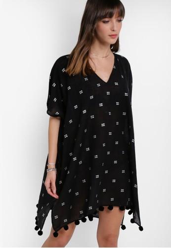 提花圓球罩esprit 見工衫, 服飾, 服飾