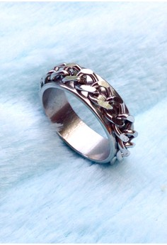 Soleful by Cez - Stainless Steel Chain Ring Band