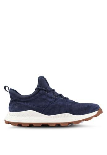Timberland navy Brooklyn Oxford Sneakers 0F54FSH1CFB27BGS_1