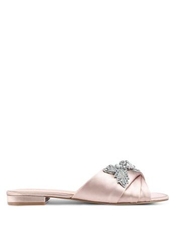 ALDO pink Doublin Flat Sandals D0720SHD99A04CGS_1