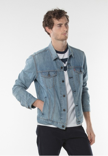 Levi's blue Levi's The Trucker Jacket C5856AAE22F719GS_1
