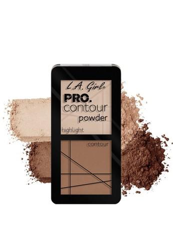 L.A Girl brown LA Girl Pro Contour Powder Natural 81A02BE9CDEFEBGS_1