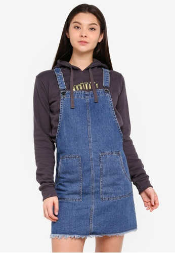 Cotton On blue Denim Pinafore Dress 52355AA772120AGS_1