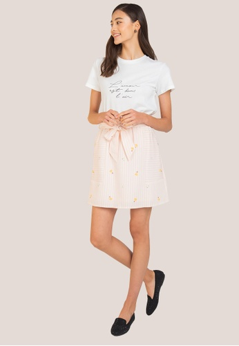 L'zzie white LZZIE LOVE IS IN THE AIR TOP - WHITE DC51BAA505A8FCGS_1