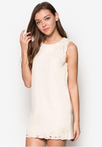 Liliesprit investor relationses 無袖蕾絲迷你連身裙, 服飾, 洋裝