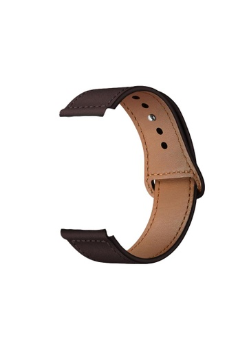 Kings Collection Dark Brown Genuine Leather Apple Watch Band 38MM / 40MM (KCWATCH1020) 3BF08AC3FCCE9DGS_1