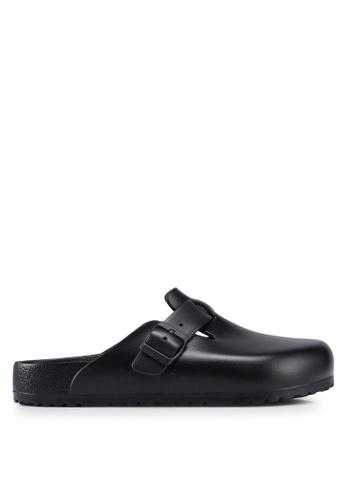 Birkenstock black Boston EVA Sandals 64DDFSH312F561GS_1