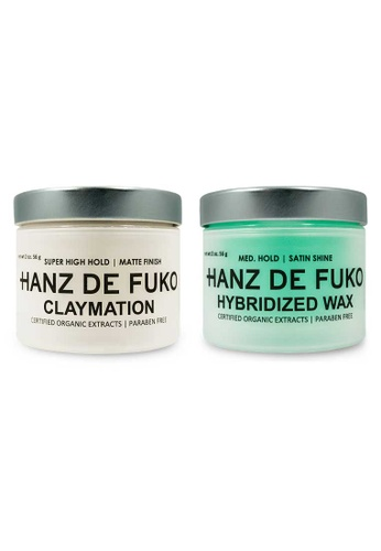 Hanz de Fuko Hanz de Fuko Claymation and Hybridized Wax Set HA369BE01NKGSG_1