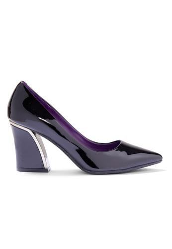 Shu Talk black Elegant Patent High Heel Pointed Toe Pumps 58CE4SH78187CEGS_1