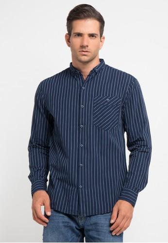 Bombboogie navy High Line Shirt BO419AA0V71UID_1