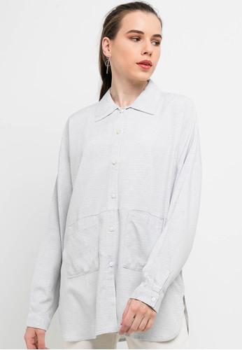 Lois Jeans grey Cotton Shirt KC723 D56C8AAACF8BB9GS_1
